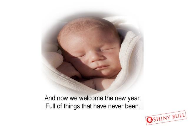 new year born