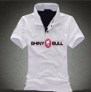 Shinybull-white-polo